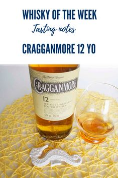 Review and Tasting notes for the Cragganmore 12 yo Single Malt Whisky Bourbon Whiskey, Scotch Whisky, Speyside Whisky, Single Malt Whisky, Cigar, Scotland, Alcoholic Drinks, Notes, Food