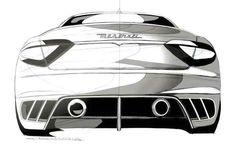 Automotive Design | Maserati GranTurismo MC Concept 2008 (by Maserati...