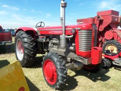 Massey Ferguson 97 tractor.THis is built upon the Minneapolis Moline G705  or G706