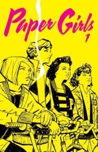 Paper Girls 1, de Brian K. Vaughan y Cliff Chiang Una reseña de Jonathan Mayorga Editorial Planeta Cómics http://www.librosyliteratura.es/paper-girls-1.html