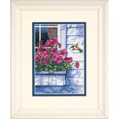 Dimensions Crafts® | Flowers and Hummingbird