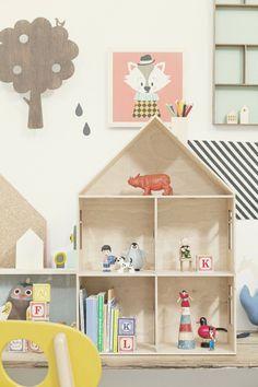 Casita de muñecas de Ferm Living     http://www.decoratualma.com/en/ferm-living/1855-dorm-pequeno.html