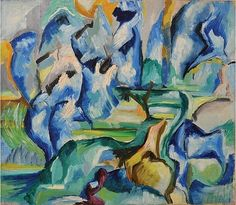 artnet Galleries: Blue Rhythm by Mary Abbott from McCormick Gallery