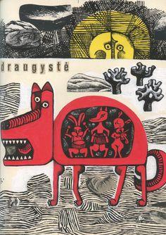 "Algirdas Steponavičius, ""The Wolf's Friendship"" in Genys magazine, 1967"