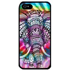 Tie Dye Elephant Hard high quality plastic Phone case cover for Apple Iphone 4 4S