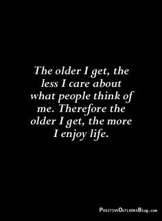 The Older I Get, Think Of Me, I Care, Keep Going, Old Things, Cards Against Humanity, Life, Moving Forward
