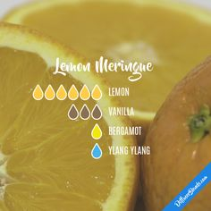 Lemon Meringue - Essential Oil Diffuser Blend