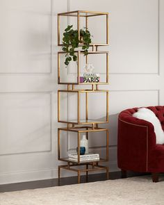 Shop Modernist Cube Etagere from John-Richard Collection at Horchow, where you'll find new lower shipping on hundreds of home furnishings and gifts. Decor, Room Design, Living Room Furniture, Interior, Home Furniture, Furniture Decor, Living Room Decor, Home Decor, Home Decor Furniture