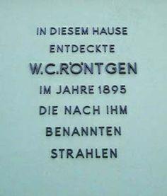 Röntgen-Gedächtnisstätte Würzburg
