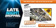 Saturn Late Night Shopping 17.07.2013: PlayStation 3, SONY Xperia Tablet S, SAMSUNG UE32F6270, Resistance 3, GORENJE W 6443/S, SAMSUNG VCR8844