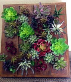 Faux Succulent Arrangement Make A Great Wall Hanging. Created By Interior  Plant Service, Inc