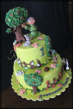Dopey (Cucciolo) cake
