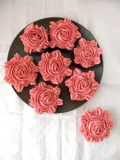 Cupcake Roses for Valentine's Day
