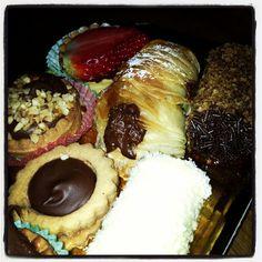 #pastries #pastry #dessert #cookies #yum #nutella #italy #italia #rome #roma #eat #food #travel