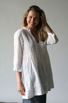 6af82135ce4 Product Image: Regina Tunic Solid Linen in Women's Clothing: Cp Shades  Clothing 2011