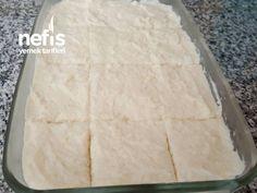 Krem Şantili Sütlü İrmik Tatlısı ( Ağızda Eriyen Hafif Tatlı) – Nefis Yemek Tarifleri Dairy, Bread, Cheese, Food, Brot, Essen, Baking, Meals, Breads