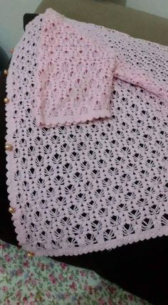 Crochet and Knitting Crochet Stitches For Blankets, Baby Blanket Crochet, Crochet Baby, Baby Knitting Patterns, Crochet Patterns, Braidless Crochet, Crochet Capas, Gilet Crochet, Crocodile Stitch