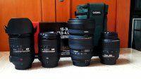 Cần bán Lens Nikon 16-85 VR  18-200VR 18-55vr Singma 15-30