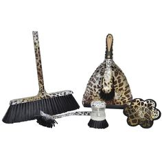 leopard cleaning supplies