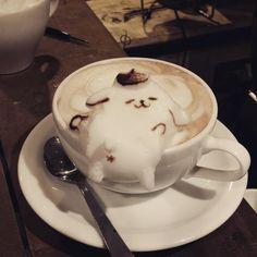 ポムポムプリン Coffee Latte Art, Watermelon Carving, Food Garnishes, Cute Desserts, Cafe Food, Aesthetic Food, Creative Food, Japanese Food, Food Art