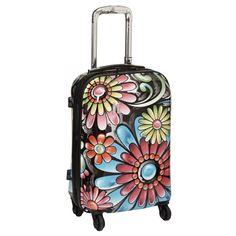 Paint Splatter Spinner Luggage | Travel plans | Pinterest | Art ...