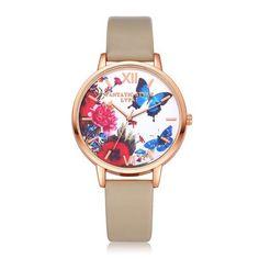 Luxury Butterfly Quartz Wristwatch