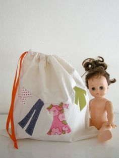 doll clothes - like the bag!