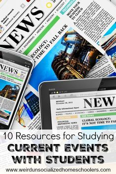 10 Resources for Studying Current Events with Students