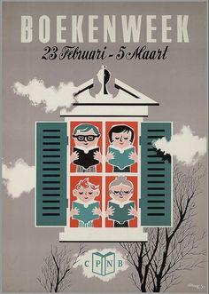 Boekenweek 1952, ontwerp G. Douwe