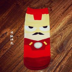 Marvel Cartoon Short Novelty Sokken