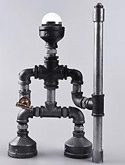 Robot Light Modern Industrial Cast Pipe Light Pipe Desk Lamp Birthda... – CAD $ 101.46
