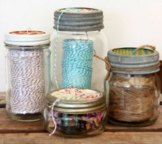 Wat kun je met lege glazen potten | Éénig Wonen