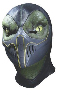 Mascara Reptile Mortal Kombat P/ Halloween Disfraces - $ 660.00 en MercadoLibre