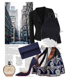 """21.09.2015"" by fashion-sense-xo ❤ liked on Polyvore featuring Donna Karan, Joana Almagro, Rebson, Christian Louboutin, John Lewis and JLo by Jennifer Lopez"