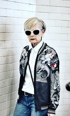 Six Senior Instagrammers Who Have Mad Style | MUSES & VISIONARIES MAGAZINE - Lyn Slater - Accidental Icon