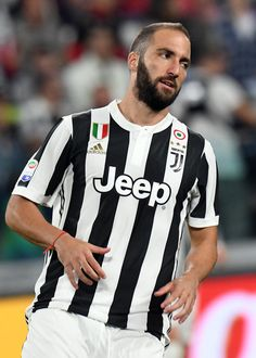 Gonzalo Gerardo Higuain of Juventus looks on during the Serie A match between Juventus and Torino FC on September 23, 2017 in Turin, Italy.