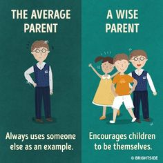 11 crucial differences between the average parent and the wise parent.Being a parent will always be the hardest job Parenting Plan, Parenting Quotes, Kids And Parenting, Parenting Hacks, Parenting Classes, Parents, Kids Education, Baby Care, Fun Facts