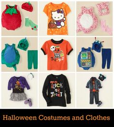 Fun Halloween Fashion from @The Children's Place