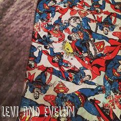    NIGHTY NIGHT     Did you know our gorgeous range of reversible minky blankets also make for the perfect cot blanket!  Visit www.leviandevelyn.com.au to view our range  #leviandevelyn #leviandevelynlove #cot #blanket #bedtime #superman #hero