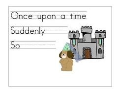 English Story Writing Stem Posters
