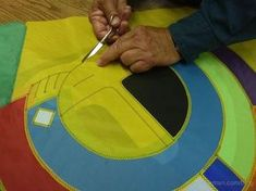 How to sew kites