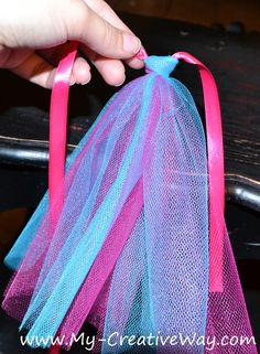 My Creative Way: How to make an Easter Tutu Basket {Tutorial}.
