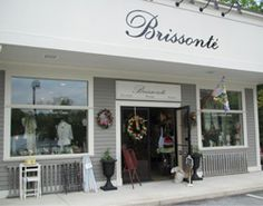 Located at 161 Main Street in North Reading (Rt.28), Brissonté is a beautiful boutique with an authentic European feel. The store offers gift items for any occasion including jewelry, scarves, home decors, vintage linens, wreaths, elegant stationary, greeting cards and so much more!