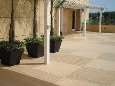 Cool pattern!! // VEKA OUTDOOR LIVING - Celluar PVC Decking - Vinyl Fencing - PVC Railing