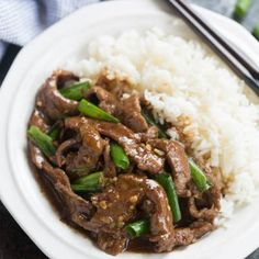 This easy Mongolian Beef recipe is better than take-out and can be made in just 30 minutes!