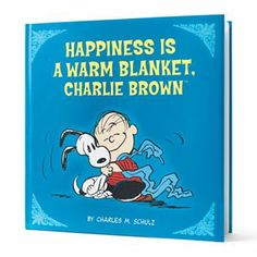 #Kohlscares Happiness is a Warm Blanket, Charlie Brown Book $5.00