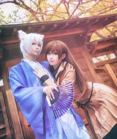 Kamisama Hajimemashita Kamisama Kiss Tomoe and Nanami Momozono Cosplay