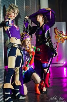 Paine, Riku, & Yuna in Witches Dress sphere Diy Costumes, Cosplay Costumes, Cosplay Ideas, Amazing Cosplay, Best Cosplay, Black Mage, Witch Dress, Final Fantasy X, Manga