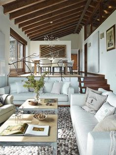 25 Sunken Living Room And Lounge Ideas To Try .- 25 Versunkenen Wohnzimmer Und Lounge Ideen Zu Versuchen 25 Versu… 25 Sunken living room and lounge ideas to try 25 Sunken living room and lounge ideas to try room - Home, Rustic House, House Design, New Homes, Rustic Interiors, Interior Design, House Interior, Sunken Living Room, Home Deco