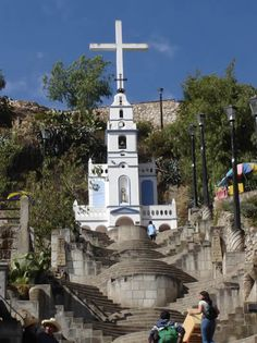 Mirador de Santa Apolonia en Cajamarca Peru. UN BELLO LUGAR DESDE DONDE SE VETODA LA CIUDAD.